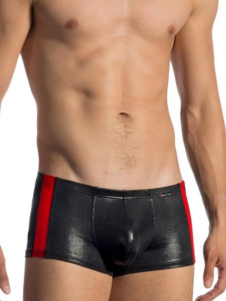 Olaf Benz RED1771: Minipant, schwarz/rot
