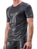 MANSTORE M510: V-Neck-Shirt, schwarz