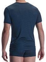 Olaf Benz PEARL2001: T-Shirt, schwarz/blau