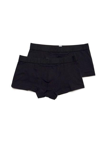 HOM HO1 Boxerlines: Boxer Pant 2er Pack, schwarz