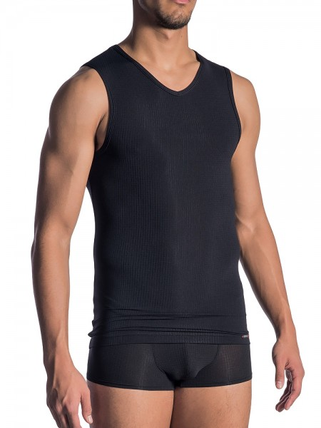Olaf Benz RED1802: Collegeshirt, schwarz