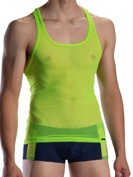 Olaf Benz RED1872: Athleticshirt, neon green