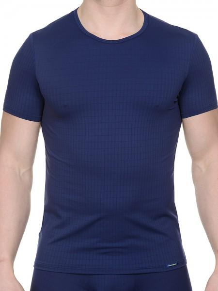 Bruno Banani Check Line: T-Shirt, marine