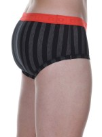 Bruno Banani Cross Walk: Retrobrief, schwarz/grau