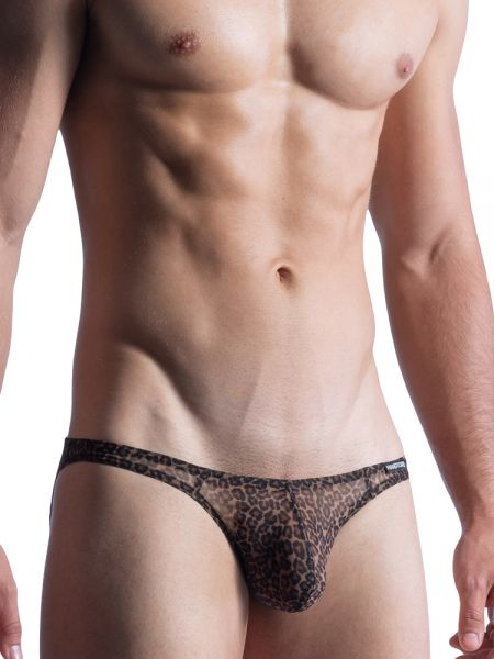 MANSTORE M855: Low Rise Brief, leopard