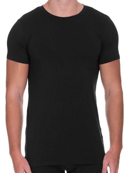 Bruno Banani Infinity: T-Shirt, schwarz