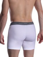 Olaf Benz RED1601: Boxerpant, weiß