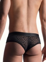 MANSTORE M818: Cheeky Brief, schwarz