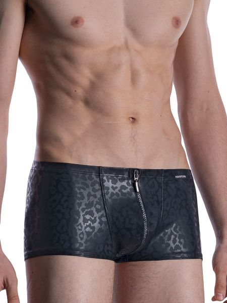 MANSTORE M2002: Zipped Pant, schwarz