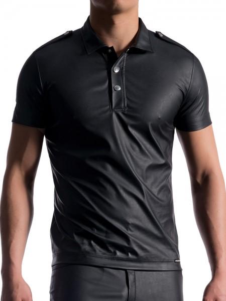 MANSTORE M104: Polo Shirt, schwarz