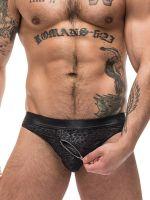 Male Power Zip It: 2-Zip Bikini Brief