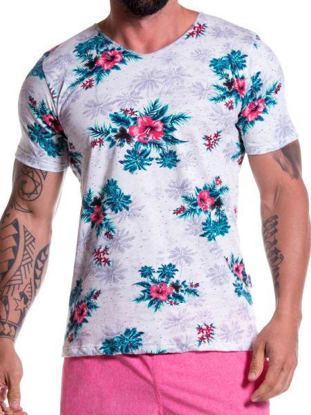 JOR Hawaii: T-Shirt, blau