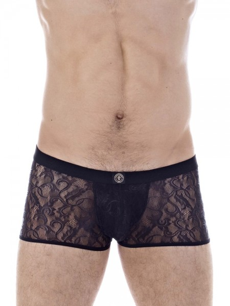 L'Homme Mystique: Push-Up Hipster, schwarz