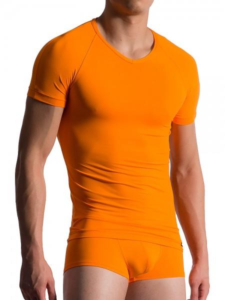 MANSTORE M200: Tactic V-Neck-Shirt, carrot