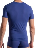 Olaf Benz RED0965: Phantom V-Neck-Shirt, navy