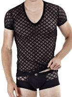 L'Homme Nightcall: T-Shirt, schwarz