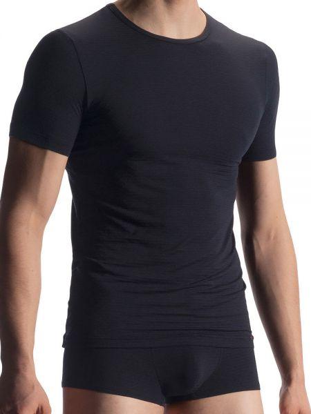 Olaf Benz RED1905: T-Shirt, schwarz