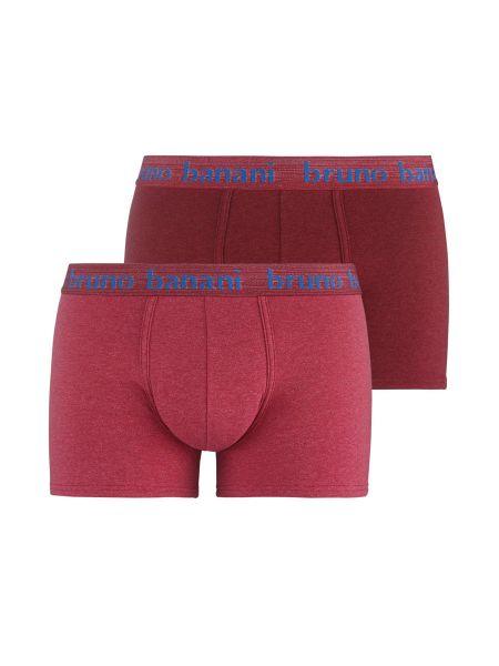 Bruno Banani Denim Fun: Short 2er Pack, rot melange
