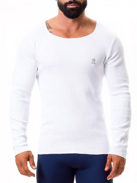 JOR Quebec: Long Shirt, weiß