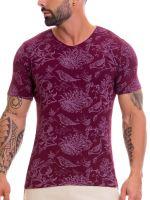 JOR Manhattan: T-Shirt, weinrot