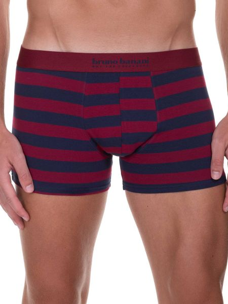 Bruno Banani Sailor: Short, bordeaux/navy