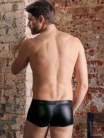 NEK: Mattlook-Netz-Pants, schwarz