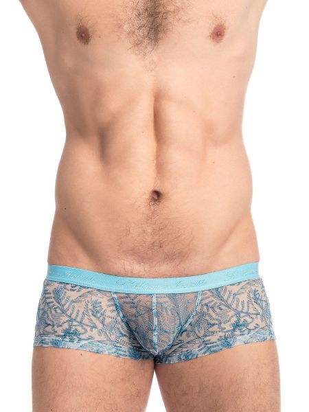 L'Homme Icy Tropics: Push-up Hipster, ciel/teal