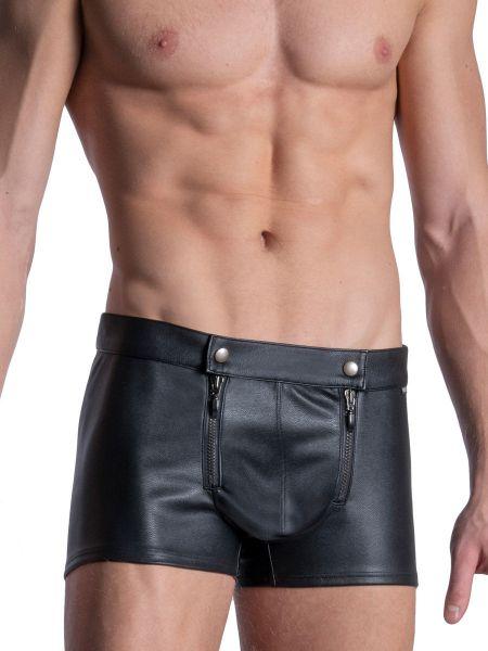 MANSTORE M2113: Zipped Pant, schwarz
