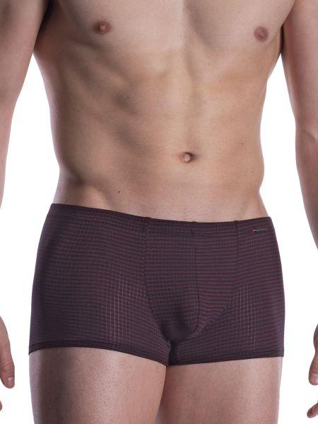 Olaf Benz PEARL2001: Minipant, schwarz/rot