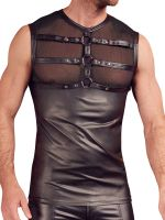 NEK Harness-Shirt, schwarz
