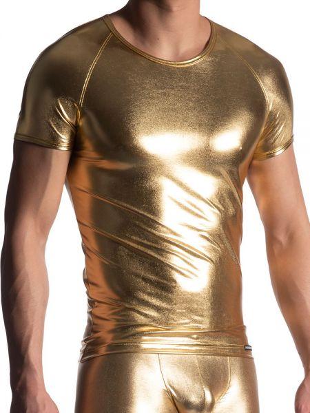 MANSTORE M107: Brando Shirt, gold