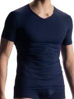 Olaf Benz RED1903: V-Neck-Shirt, navy