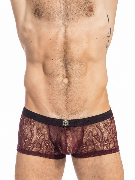 L'Homme Enzo: Push-up Hipster, cherry/choco