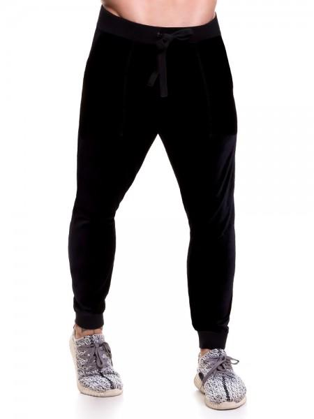 JOR Velvet: Long Pant, schwarz