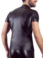 NEK Zip Shirt, schwarz