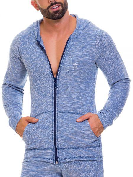 JOR Apolo: Hoodie Jacket, blau