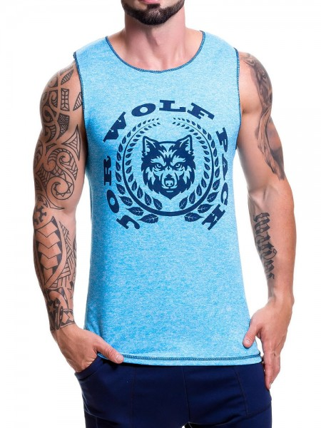 JOR Animal: Tanktop, blau