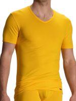 Olaf Benz RED1601: V-Neck, gelb