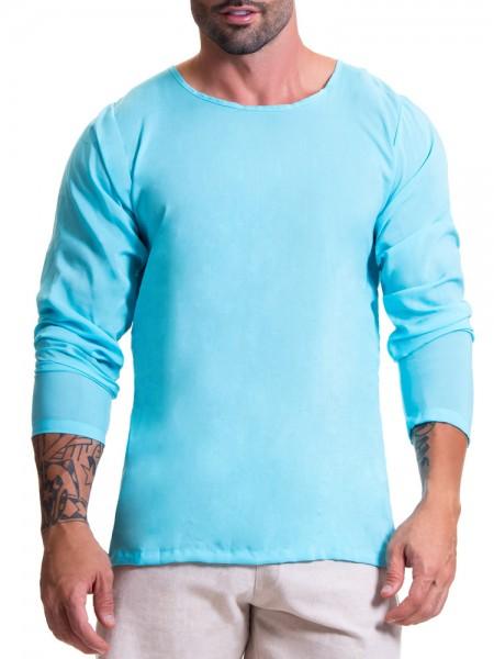 JOR Baru: Longshirt, blau