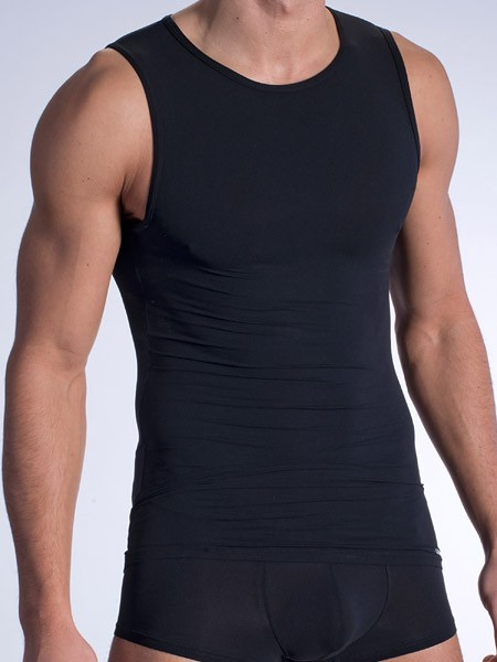 Olaf Benz RED0965: Phantom Tanktop, schwarz