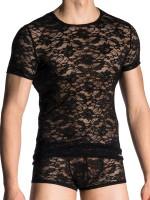 MANSTORE M705: Casual T-Shirt, schwarz