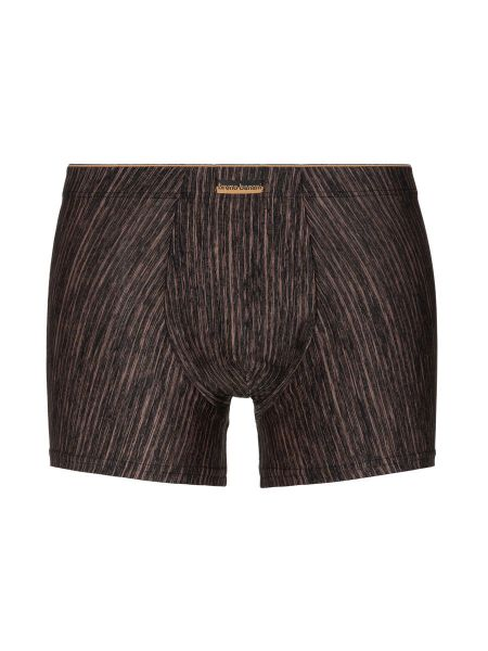 Bruno Banani Lava Field: Shortpant, schwarz/bronze stripes