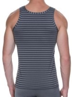 Bruno Banani X-Mas Party: Sportshirt, anthrazit stripes