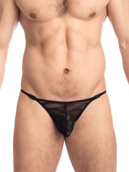 L'Homme La Flamme Noire: Stripstring, schwarz