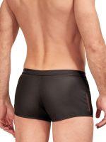 NEK Netz Zip-Pant, schwarz