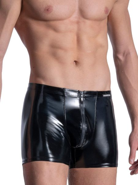 MANSTORE M2110: Zipped Boxer, schwarz