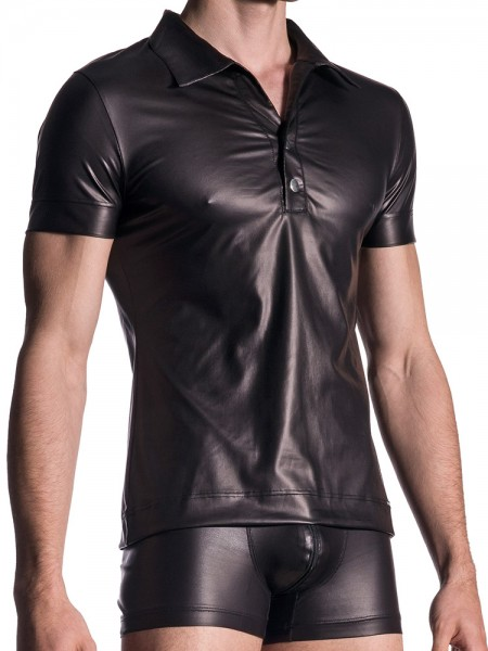 MANSTORE M510: Polo Shirt, schwarz