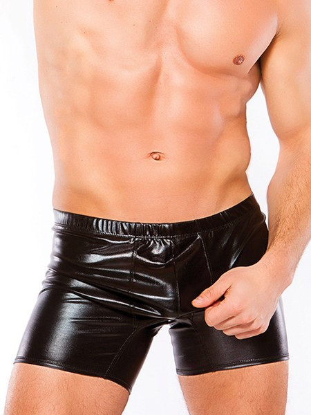 Zeus: Wetlook-Short, schwarz