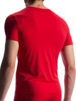 Olaf Benz RED1903: V-Neck-Shirt, rot