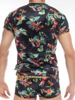 L'Homme Amor: V-Neck-Shirt, bunt